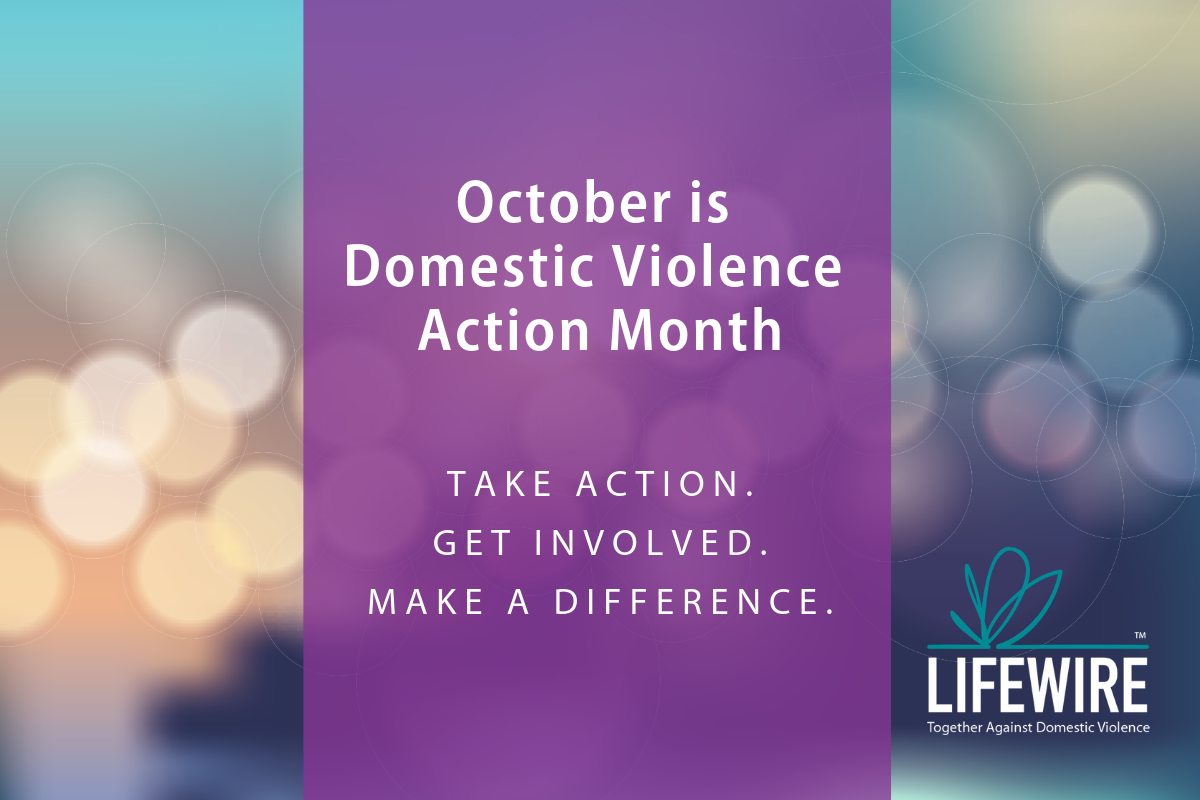 Domestic Violence Action Month 2018