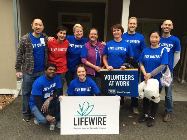 Microsoft Day of Caring Volunteers